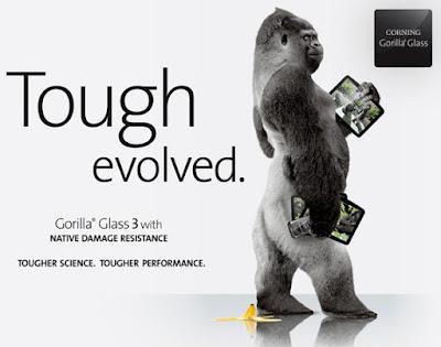 Proteksi Gorilla glass 3