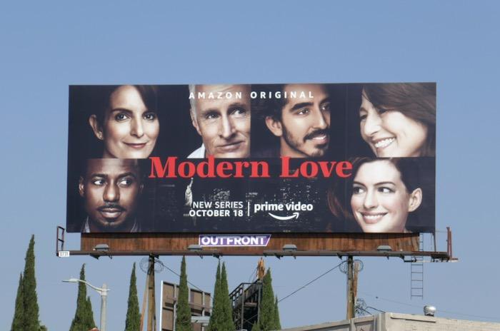Modern Love series launch billboard