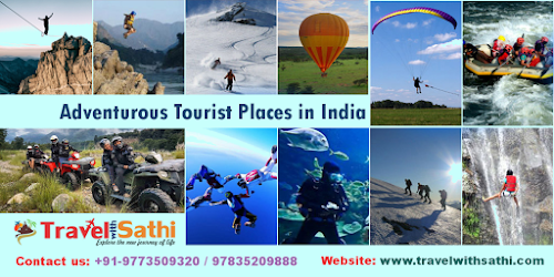 Travel With Sathi Gives you Best Deals on Adventurous Tourist Places in India
