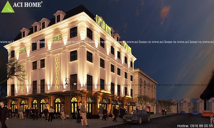 Thiết kế khách sạn Captain Hotel 5 tầng tại Hạ Long - Ảnh 6