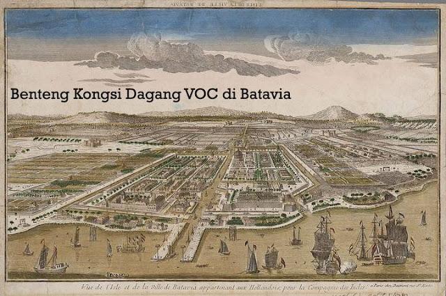 Kongsi Dagang Belanda VOC di Indonesia Abad 17
