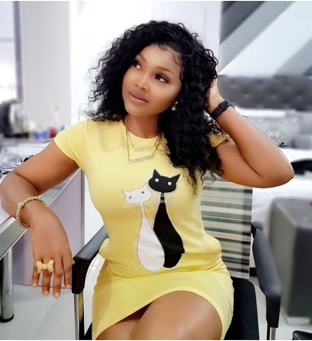 Actress Mercy Aigbe lay curses on anybody who links his hard work to men