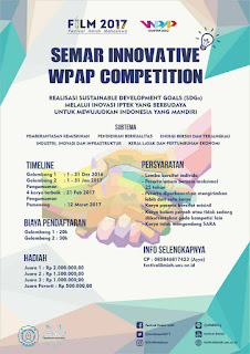 SEMAR INNOVATIVE WPAP COMPETITION WITH WPAP CHAPTER SOLO