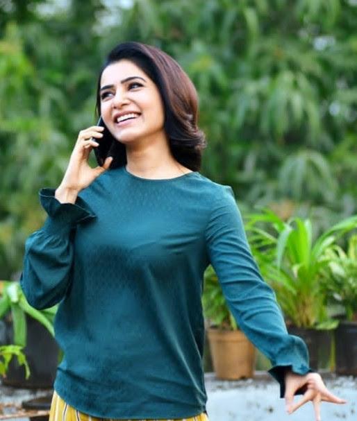 Indian Actress Samantha Akkineni photos