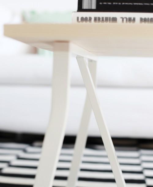 mesa de centro DIY