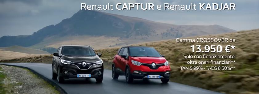 Canzone Renault CAPTUR e Renault KADJAR Crossover pubblicità con rinoceronte - spot Novembre 2016