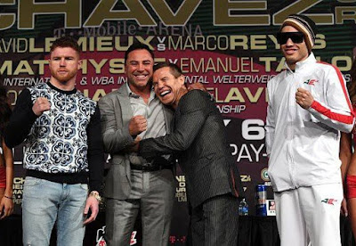 foto canelo vs chavez jr