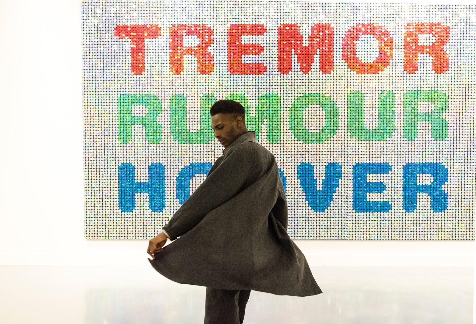 When Art & Fashion Meets by jonthegold - wearing my special sweater by BELMODO X O'REN in the mhka antwerp with a streetstyle