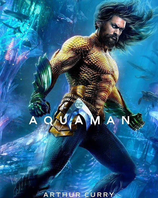 Official Poster Film Aquaman