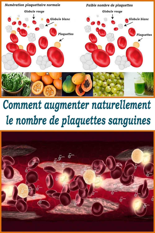 Comment augmenter naturellement le nombre de plaquettes sanguines