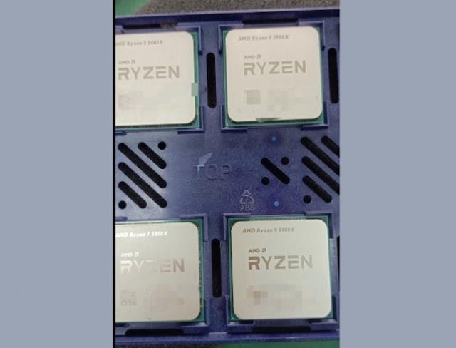 Ryzen 5 5600X, Ryzen 7 5800X, Ryzen 9 5900X, and 5950X models
