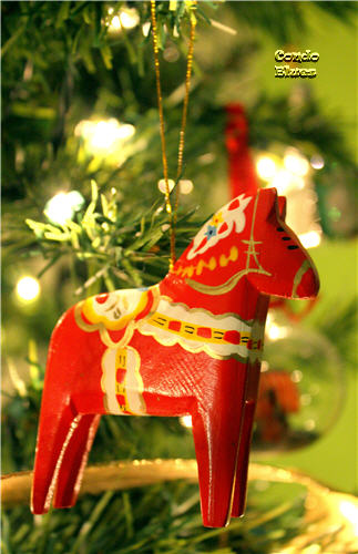 Swedish Dala horse decoration