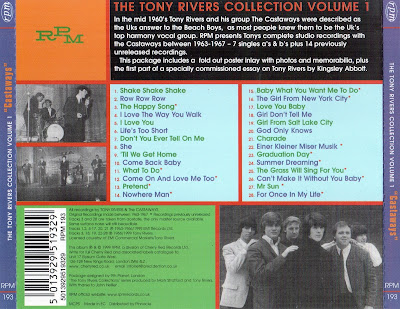 The Castaways ( UK) - The Tony Rivers Collection