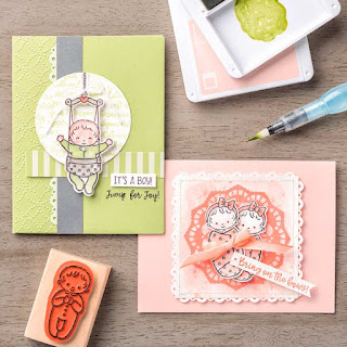 Stampin' Up! Sweet Baby Cards