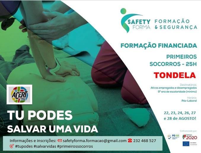 Curso financiado de Primeiros Socorros – Tondela