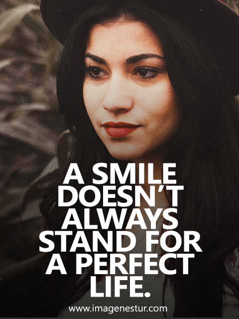 Girls Smile Quotes for Instagram