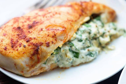 Make Easy Dinner with Healthy Stuffed Chicken Breast Recipes!