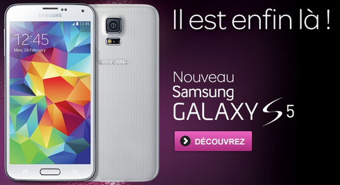 le prix du samsung galaxy s5 chez inwi mise jour tic. Black Bedroom Furniture Sets. Home Design Ideas