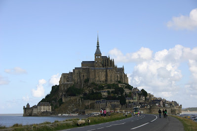 A história do Monte Saint-Michel