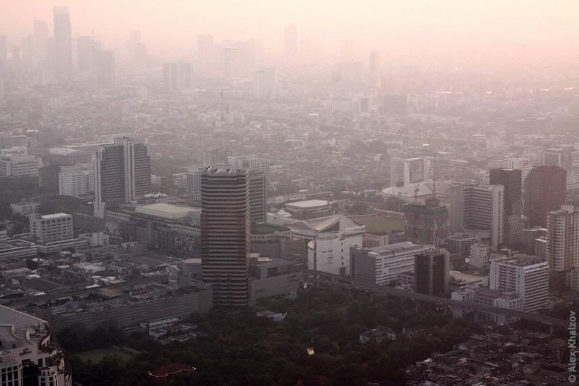 Смог в Таиланде