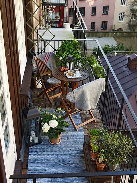 Consulta con el experto decorar la terraza para el verano - Tapar barandilla balcon ...