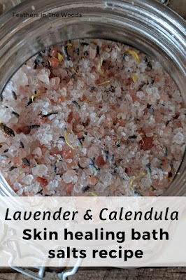 Pink salt and lavender bath soak recipe