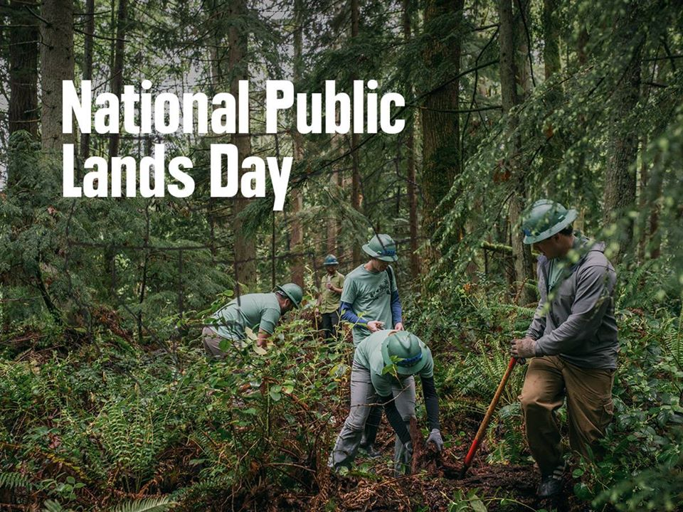 National Public Lands Day Wishes Beautiful Image
