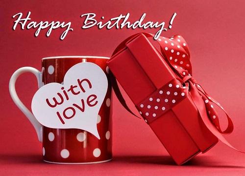 Birthday Wishes Love Photo for Girlfriend