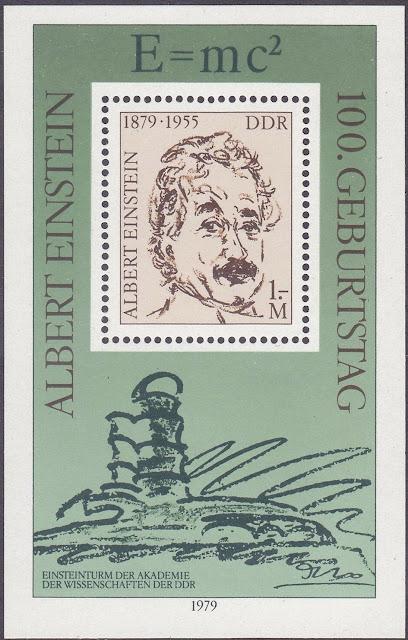 Germany DDR 1979 Albert Einstein