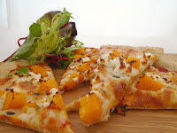 Butternut Squash, Goats' Cheese & Thyme Pizza