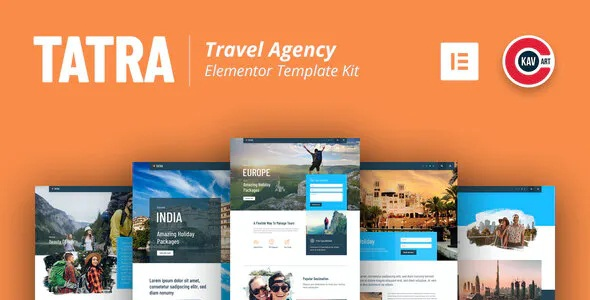 Best Travel Agency Elementor Template Kit
