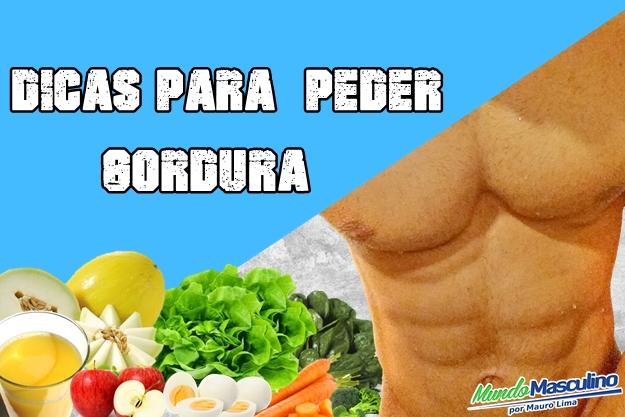 Dicas Para Perde Gordura