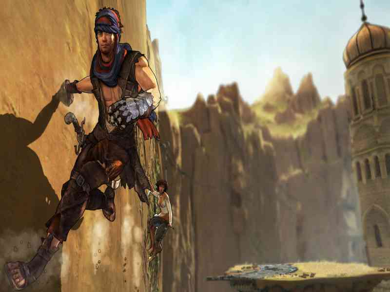Prince of Persia (2008) gameplay (PC Game, 2008) - YouTube