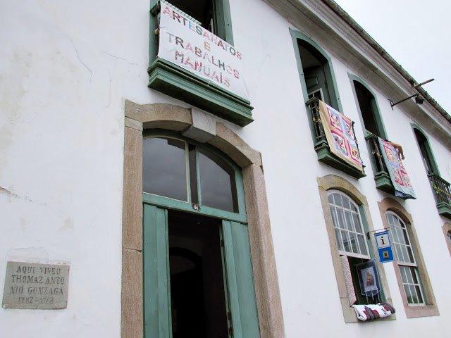Casa de Thomaz Antônio Gonzaga, Ouro Preto