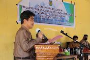 Kunker Ke Desa-Desa Kawasan Taka Bonerate, Wabup di Sambut Antusias Warga Kayuadi
