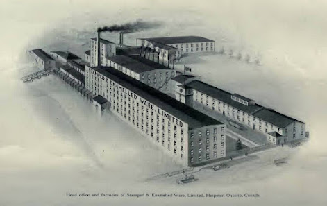 Hespeler Stamped and Enamelled Ware Plant