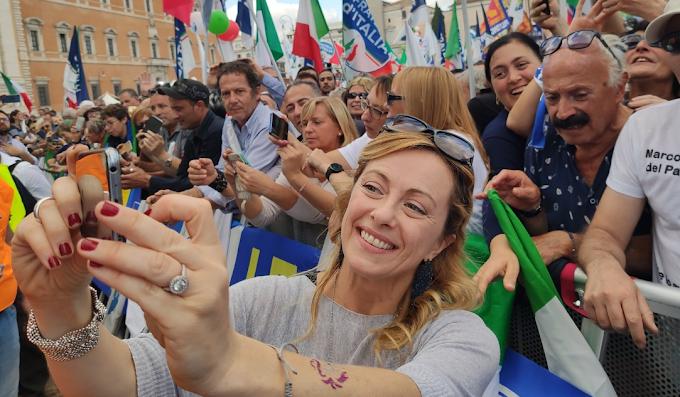 Ingiurie a Giorgia Meloni, Perretti (Crpo): dimissioni di Gozzini