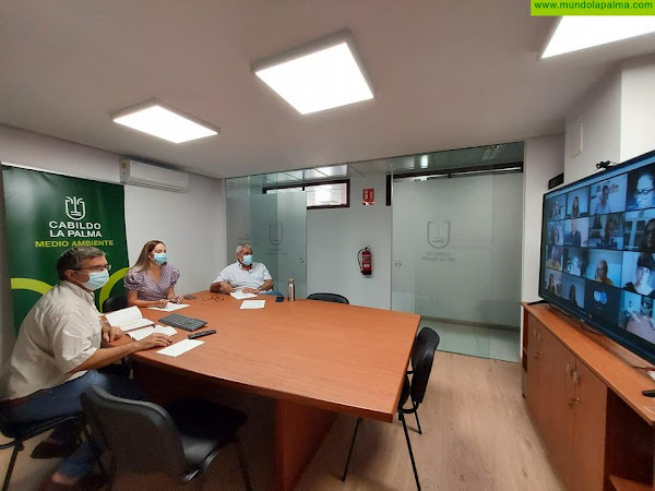 Un equipo de personas expertas trabaja con el Cabildo en el diseño de la Estrategia de Educación Ambiental de La Palma