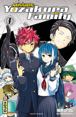 Mission: Yozakura family tome 1 la couverture