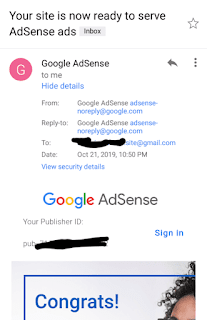 Google adsense approval tricks for blogger