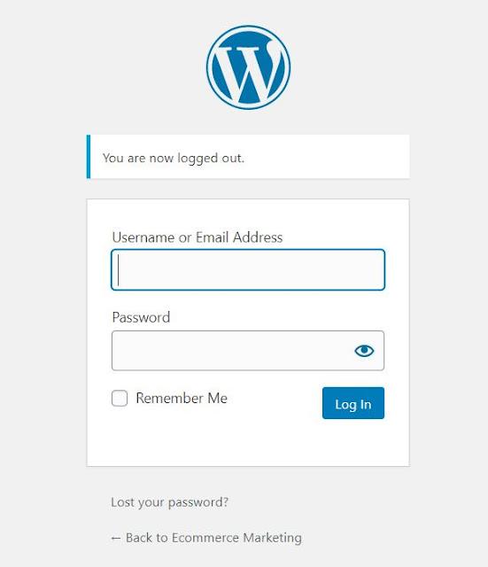 Iniciar sesión en el panel de control de tu Wordpress que seria a través de una URL similar a esta: www.mistio.com/wp-admin Colocando el usuario y contraseña de administración.