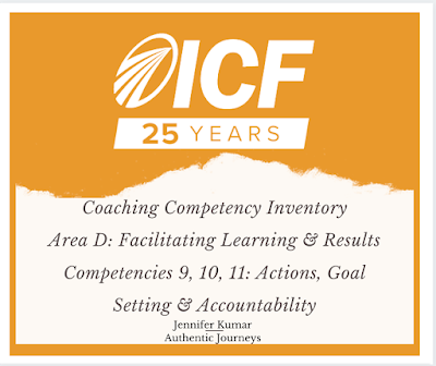 ICF Competencies: Designing Actions, Goal Setting, Accountability