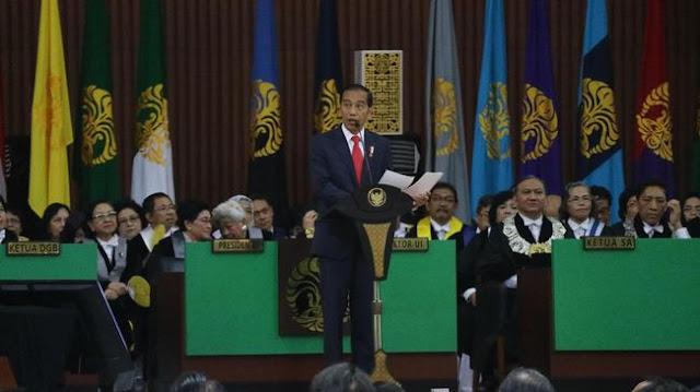 Dibegituin Sama Ketua BEM UI, Presiden Jokowi Sama Sekali Tak Tersinggung...