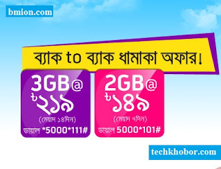 Grameenphone-3GB-219Tk-2GB-149Tk-Back-to-Back-Dhamaka-Internet-Offer