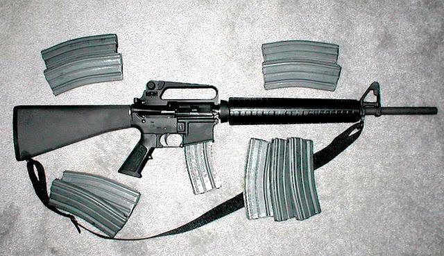 AR-15: A Arma Maldita!