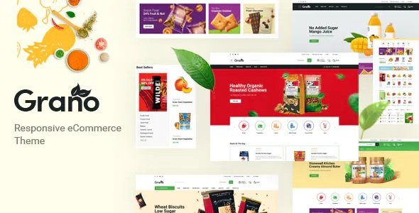 Best Organic and Food Opencart Theme