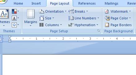 Fitur microsoft word untuk mengatur ukuran kertas