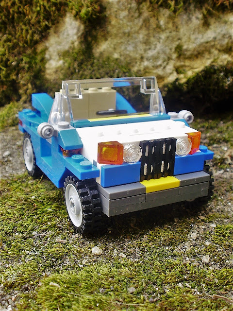 Set LEGO Creator 6913 Blue Roadster
