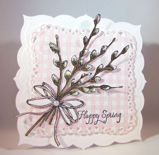 Our Daily Bread Designs, Happy Spring, Gingham