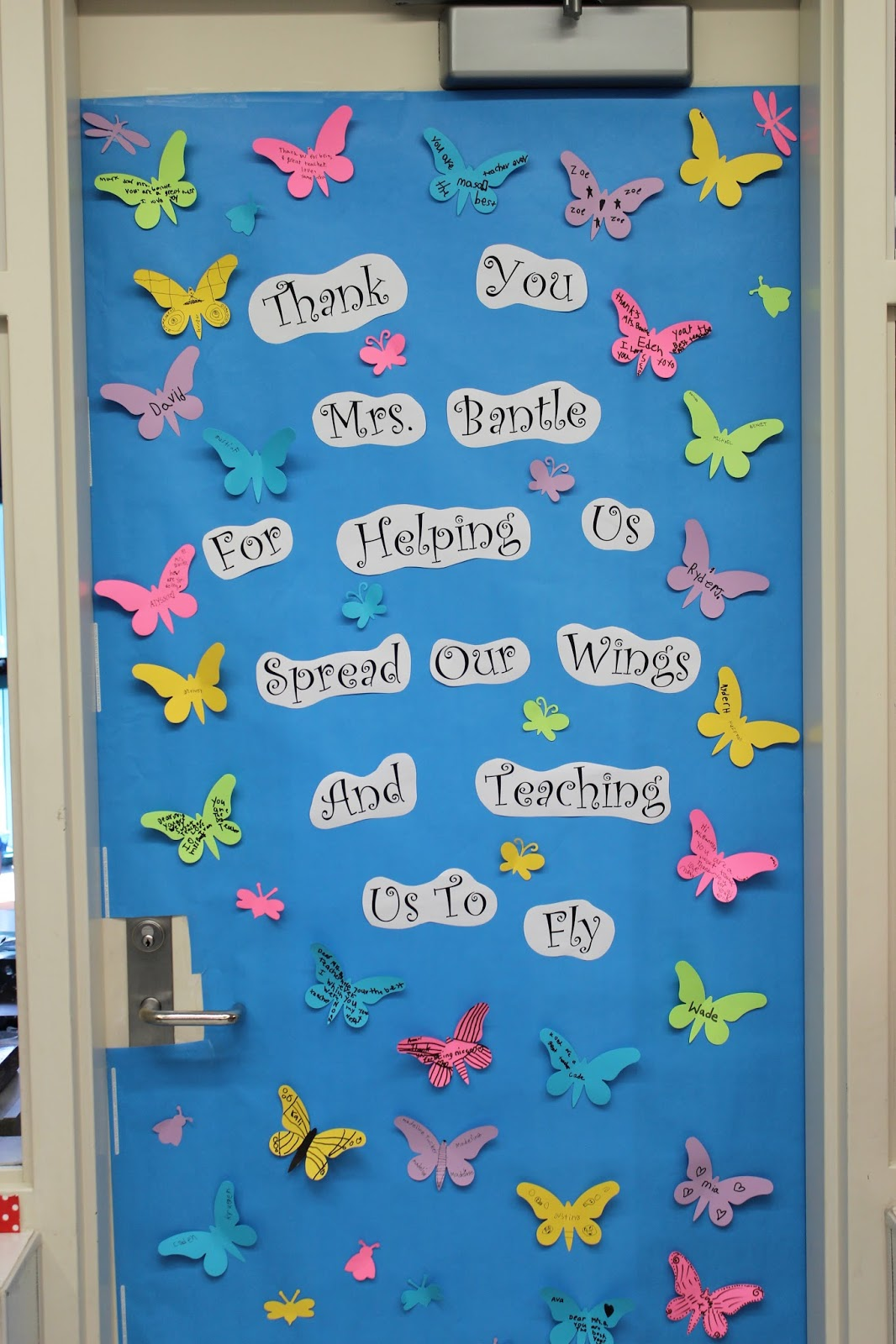 Teacher Reciation Week Doors
